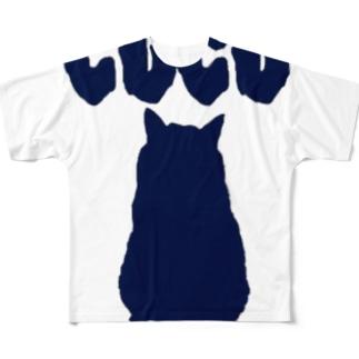 こっちゃん Full graphic T-shirts