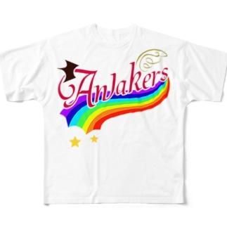 Go Go Awakers ゴーゴーアウェイカーズ Full Graphic T-Shirt