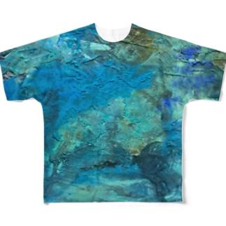 海底ひゃくおくまんキロメートル Full graphic T-shirts
