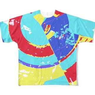 ニューワールド Full graphic T-shirts