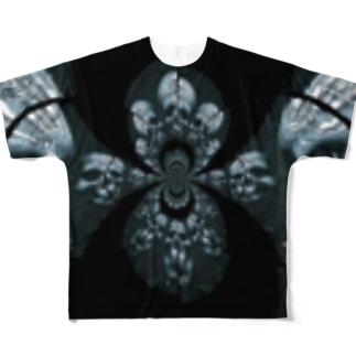 RMk→D (アールエムケード)のカタコンベ Full graphic T-shirts