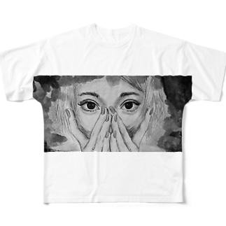 hanahana production  Full graphic T-shirts