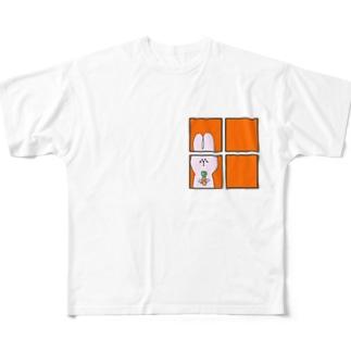 おるすばん 4 Full graphic T-shirts