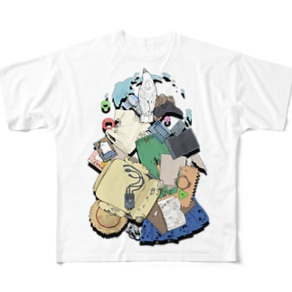 破壊の軌跡 Full graphic T-shirts