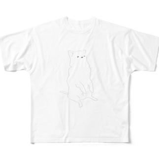 おすわりこむちゃ Full Graphic T-Shirt