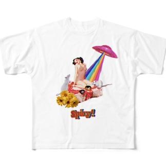はじめての味覚(味) Full graphic T-shirts