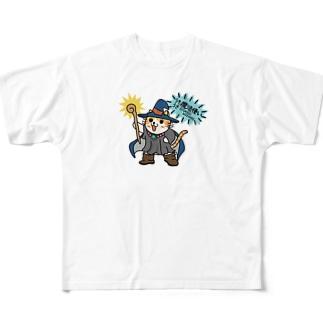 うきうき魔法使い Full graphic T-shirts