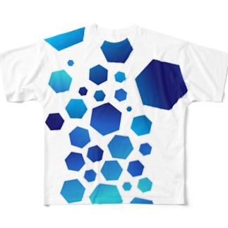 Crashed フルグラフィックTシャツ