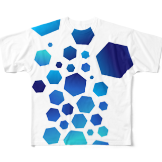 neoacoのCrashed Full graphic T-shirts