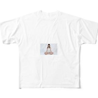 「マスターベーションでは射精できるのに Full graphic T-shirts