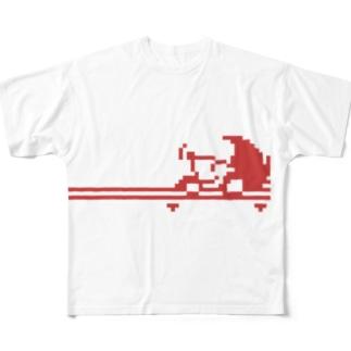 ドットよたま フルグラフィックTシャツ