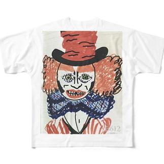 マッドハッター Full graphic T-shirts