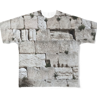西壁 Full graphic T-shirts