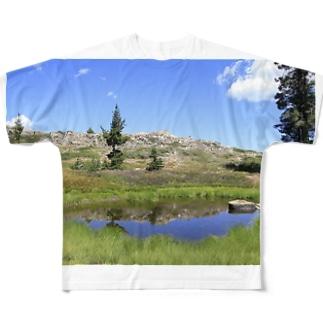 第2ハートレイク Full graphic T-shirts