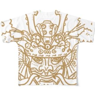 サムライエンジン Full graphic T-shirts