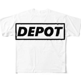 貯蔵庫メッセーージ!! Full graphic T-shirts
