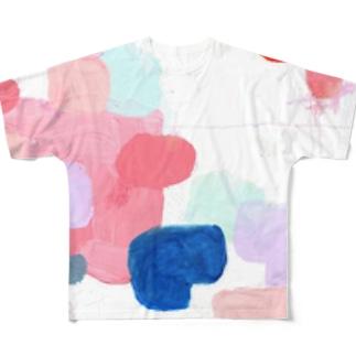 フローラル Full graphic T-shirts