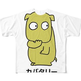 カバタリー Full graphic T-shirts