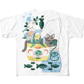 N・ECOBAG Full graphic T-shirts