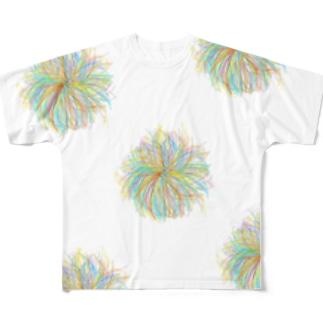 Kesalan Patharan with lots of heart Full graphic T-shirts