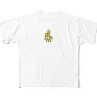 きりん All-Over Print T-Shirt