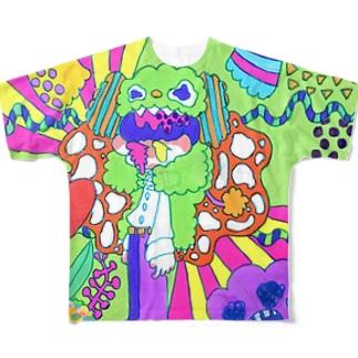 凶暴性 Full graphic T-shirts