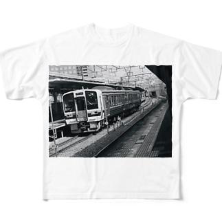 鉄道写真@岡山 Full Graphic T-Shirt