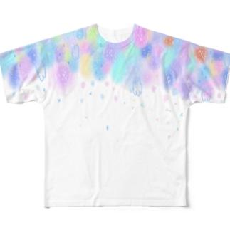 ハッピーフォレスト Full graphic T-shirts