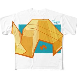 缶風景080125 Full graphic T-shirts