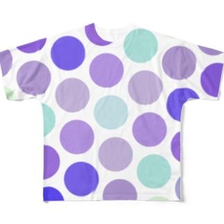 ぶどうどっと Full graphic T-shirts