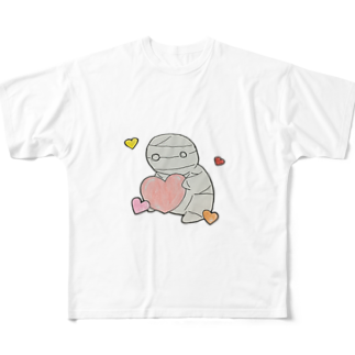 ホストのミイラの飼い方 Full graphic T-shirts