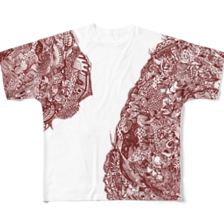 うみとみう Full graphic T-shirts