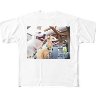 笑顔 Full graphic T-shirts
