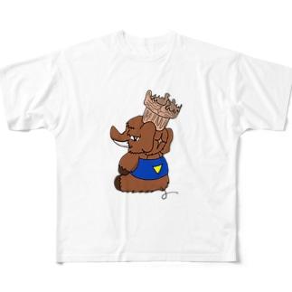 トマドン フルグラフィックTシャツ