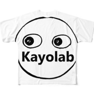 Kayolabくん Full graphic T-shirts