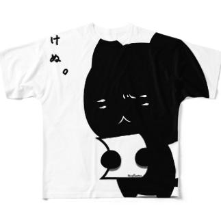 解けない猫 Full graphic T-shirts