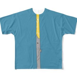 みてる フルグラフィックTシャツ