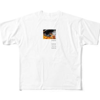 CRIED EYE Full graphic T-shirts