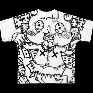 chane_clo2の疑心暗鬼ちゃん Full graphic T-shirts