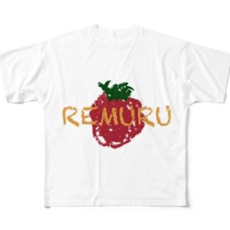 れむる Full graphic T-shirts