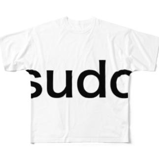 なんでもできる Full graphic T-shirts