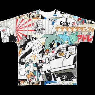 Itsu Horiguchiの脳内パニック Full graphic T-shirts