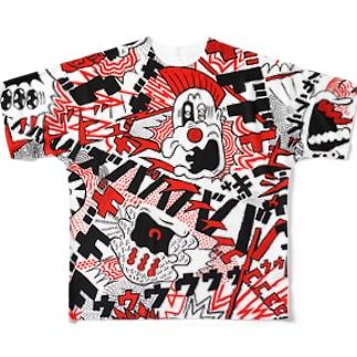 NOISEY フルグラフィックTシャツ