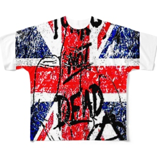 punks② Full graphic T-shirts