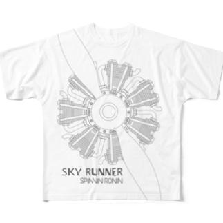 SKY RUNNER 2017_B  Full graphic T-shirts