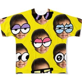 カミツキガメ Full graphic T-shirts