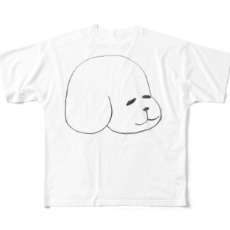 いぬ Full graphic T-shirts