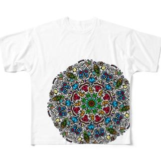 いっぱい Full graphic T-shirts