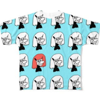 イロイロノイロ Full graphic T-shirts