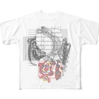 #16 Asia with Multi-Standard 20210716 CompoundDigitalMicroscope version Full graphic T-shirts